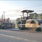 Experimental Paving Project On Route 43