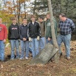 Stephentown Boy Scouts Undertake Cemetery Cleanup