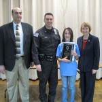 DARE Student Of The Year At Berlin Elementary