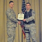 Daniel Baker Is Awarded The Air Force Achievement Medal