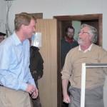 Congressional Candidate Visits Hoosick Falls