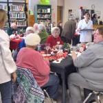 BCS Catering Class Hosts Senior Citizens