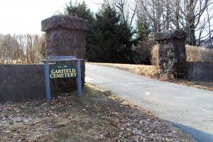 The Garfield Cemetery entrance. (David Flint photo)