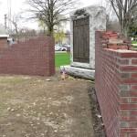Walls Up At Hoosick Vets Memorial