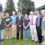 Candidates For County Legislature Emerge At Hoosick Democratic BBQ