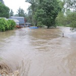 Widespread Flooding In Stephentown And New Lebanon