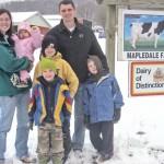Greenes Receive Young Farmer Achievement Award