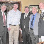 Lions Club District Governor Installs New Members