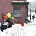 Snow In Hoosick Falls
