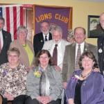 Hoosick Lions Club Installs First Women Members