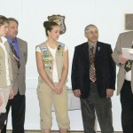 Masons Honor Girl Scouts