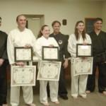 Three Earn Black Belts In Stephentown