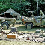 1944 Willys Jeep Exhibit At The Memorial Day