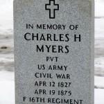 Local Civil War Veteran Gets His Stone