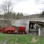 Bridge Work In Hoosick Falls