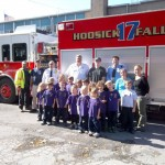 Hoosick Falls Fire Department Visits St. Mary's Academy