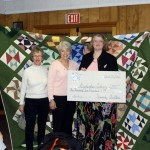 Heavenly Quilters Raise $1,200 For Stephentown Library