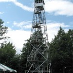 Grafton's Dickinson Hill Fire Tower Is Open To The Public