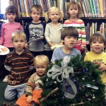 The Cheney Library Festival Of Wreathes