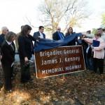 Hoosick Resident Brigadier General James Kenney Memorial Highway Dedicated