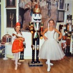 Two Petersburgh Girls Who Are Miss Olivia's Ballet Students Dance In Professional Nutcracker