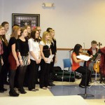 Hoosick Falls Kiwanis Holiday Party Features HFCS Chorus