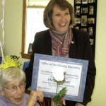 Helen Ellett Celebrates Her 99th Birthday