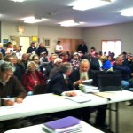 Stephentown Motocross Hearing Draws Huge Crowd