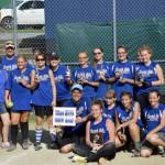Hoosick Falls U12 Softball Team Wins Tournament