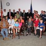County Honors Hoosick Falls Deceased Veteran Jay E. Arnold
