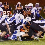 Panthers Disarm Tomahawks, 49 – 0, To Win Northern Division Title