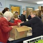 Hoosick Area Community Packs Thanksgiving Dinners