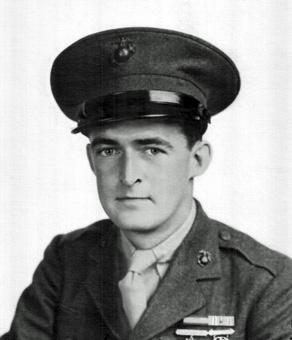USMC Pfc William Halleck. Photo courtesy of William Halleck.