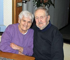 Yvette and Bill Halleck. (David Flint photo)