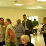 U.S. Congressman Gibson Visits The Stephentown Seniors Club