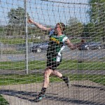 Laura Ryder Wins Discus Competition At Sectionals