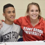Two HFCS Athletes Sign D I Letters