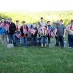 Petersburgh Boy Scout Troop 222 Respects The Sacrifices Of Our Military Men And Women