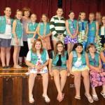 Jr. Girl Scouts Receive Bronze Award