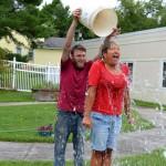 Center Participates In Ice Bucket Challenge
