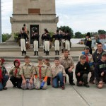 Scouts Attend The Battle Of Plattsburgh War Of 1812 Camporee