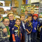 Cubs Collect Food