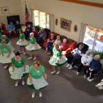 Seniors Entertained By Cloggers