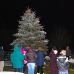 U.S. Congressman Gibson At Tree Lighting In Stephentown