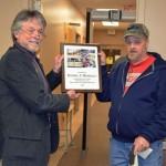 Assistant Highway Superintendent Dan Merrils Retires