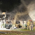 Petersburgh Home Destroyed By Fire