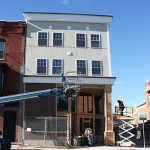 Parson's Corner In Hoosick Falls Nearly Finished