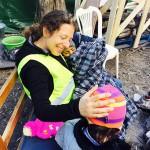 Cari Naftali Of New Lebanon Volunteers To Help With  Refugee Crisis In Greece