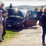 Walloomsac Accident Wrecks Three Vehicles