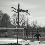 Berlin Track Teams Off To Good Start Alex Flowers Sets Berlin Record In Pole Vault